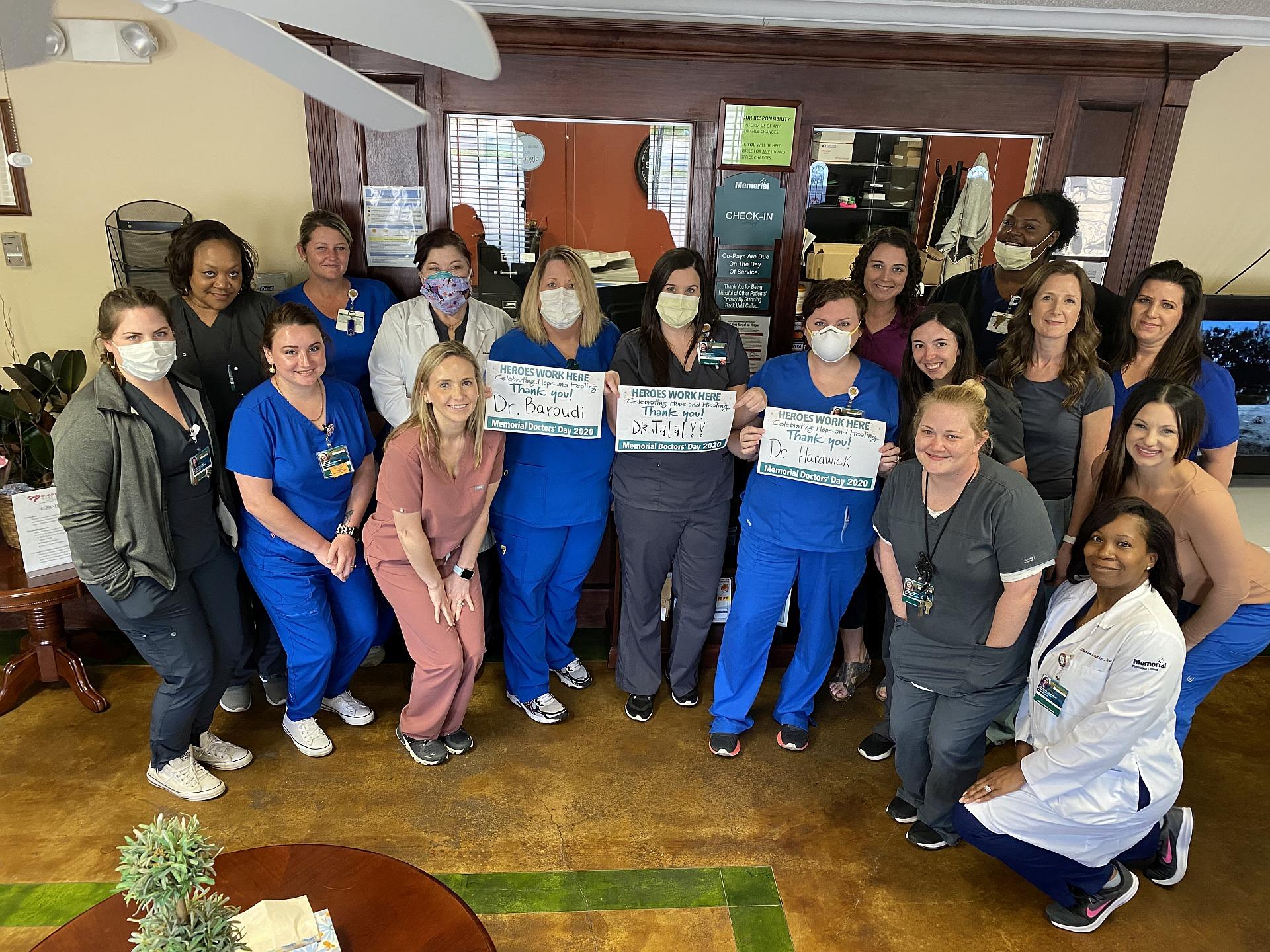 Memorial Coast Heart Institute staff photo